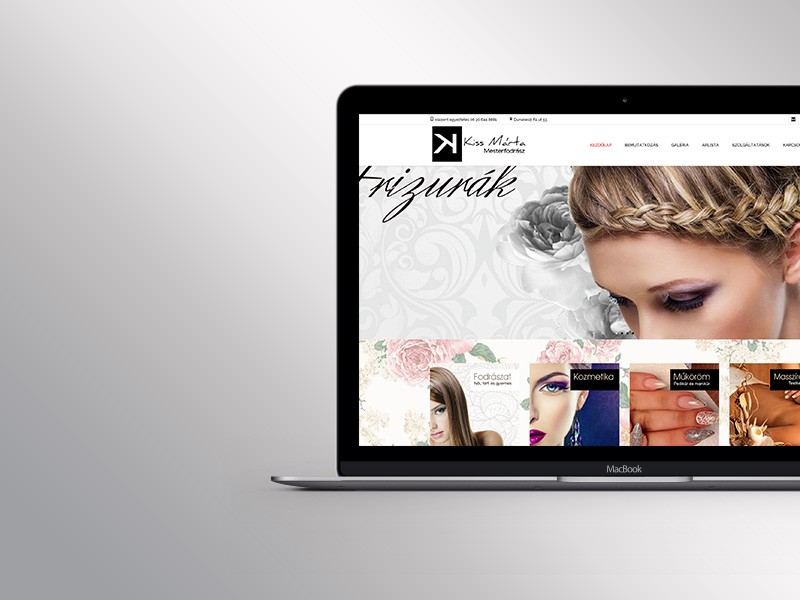 Új céges weblap készítése egyéni vállalkozóknak