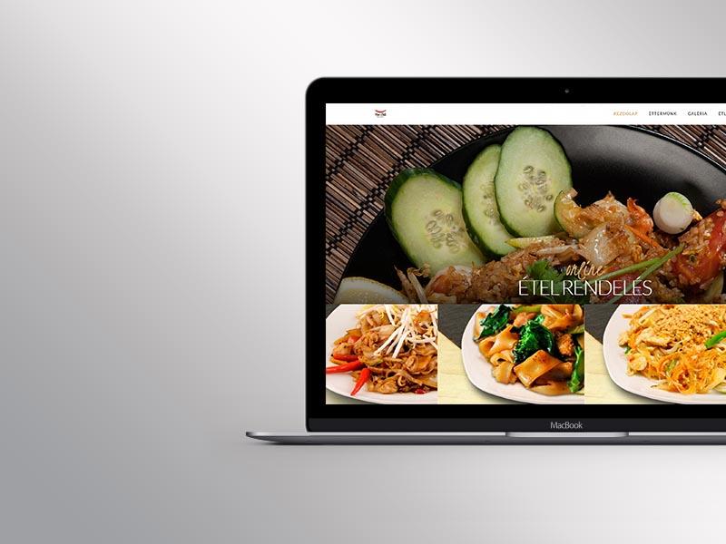 Étterem webdesign készítés